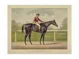 The Grand Racer Kingston Giclee Print by  Currier & Ives