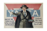 Ymca United War Work Campaign Poster Giclee Print by Neysa Mcmein