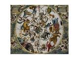 Atlas Coelestis Seu Harmonia Macrocosmica (Celestial Atlas) Giclee Print by Andreas Cellarius