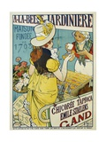 A-La-Belle Jardiniere Flower Seeds Advertisement Poster Giclee Print