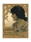 El Matecito Music Sheet Cover Giclee Print