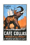 Cafe Collas Perles Des Indes Poster Giclee Print