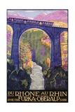 Rhone Au Rhin Giclee Print by Daniele Buzzi