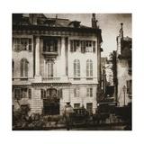 The Boulevard, Paris Giclee Print by William Henry Fox Talbot