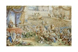 An Allegory of Contemporary Events Giclee Print by Henry Barnabus Bright