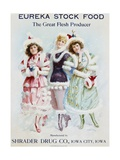 Eureka Stock Food: the Great Flesh Producer Advertising Poster Giclee Print