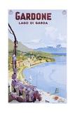 Gardone Lago Di Garda Poster Giclee Print