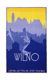 Wilno Poster Giclee Print by Stefan Norblin