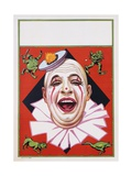 Poster of Clowns with Dog and Goose Giclee Print