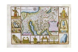 18th Century Map of Egypt, Arabia and the Middle East Giclee Print