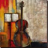 Violincello Kunstdruk op gespannen doek van  Giovanni