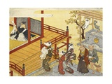 Kitsune No Yomeiri - the Fox's Wedding Series Print Giclee Print by Tachibana Minko