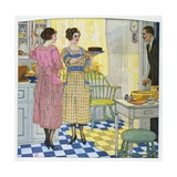 Advertisement for Mina Taylor Dresses Giclee Print