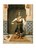 The Harem Guard Giclee Print by Attilio Simonetti