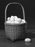 1930s Symbolic Still Life Donõt Put All Your Eggs in One Basket Photographic Print