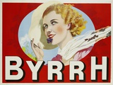 Byrrh Advertising Poster Photographic Print