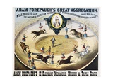 Adam Forepaugh's Great Aggregation Poster Giclée-tryk