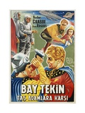 Buck Rogers Turkish Movie Poster Giclee Print