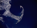 Cape Cod from Space Photographic Print