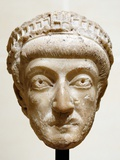 Bust of Byzantine Empreror Theodosius II Photographic Print