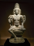 Sculpture of Shiva Photographic Print