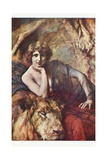Lioness Giclee Print by Emile Friant