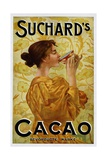 Circa 1905 Belgian Poster for Suchard's Cacao Impression giclée