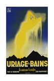 Uriage Les Bains Hot Spings Poster Giclee Print by Gaston Gorde