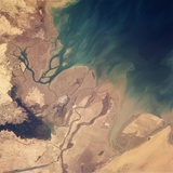 Persian Gulf Seen from Space Photographic Print