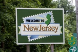 Welcome to New Jersey Sign Photographic Print by Paul Souders