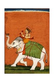 Pahari School Painting of Dipak Raga Giclee Print