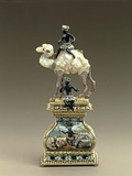 Figure of Camel Made from Baroque Pearls Photographic Print