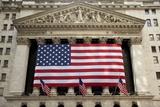 New York Stock Exchange, New York Reprodukcja zdjęcia autor Paul Souders