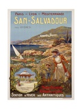 San-Salvadour Poster Giclee Print by Ernest Louis Lessieux
