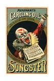Merchant's Gargling Oil Advertisement Booklet Cover Giclee Print