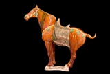 Tang Dynasty Sancai Glazed Horse Photographic Print