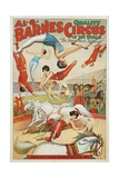 Al G. Barnes Circus - Quality Circus of the World Poster Lámina giclée