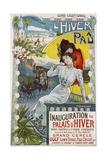 L'Hiver a Pau Poster Giclee Print by Vincent Lorant-Heilbronn
