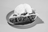 1950s Slice of Cherry Pie Alamode Dessert Photographic Print by L. Fritz