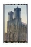 La Cathedrale De Reims Poster Giclée-Druck von Jean Droit