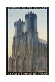 La Cathedrale De Reims Poster Giclee Print by Jean Droit
