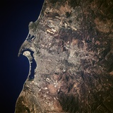 San Diego from Space Photographic Print