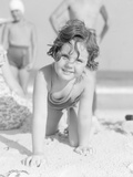 Girl at the Beach Photographic Print by Philip Gendreau