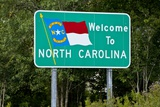 Welcome to North Carolina Sign Photographic Print by Paul Souders