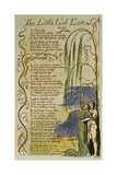 The Little Girl Lost from Songs of Innocence Giclee Print by William Blake