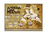 Antigua Casa Franch Poster Giclee Print by Alejandro De Riquer