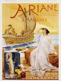 Ariane Poster Photographic Print by Albert Maignan
