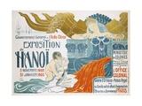 Exposition De Hanoi Giclee Print by Clementine-helene Dufau