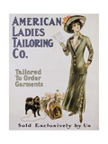 American Ladies Tailoring Co. Poster Giclee Print