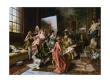 The Art Class Giclee Print by Arturo Ricci
